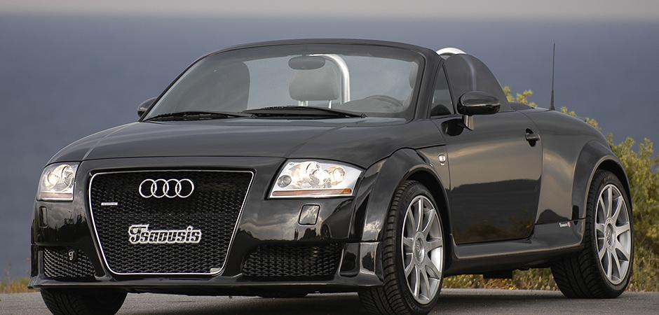 Βελτίωση εμφάνισης και επιδόσεων για Audi TT